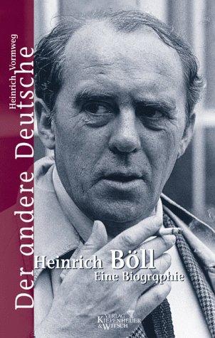 der andere deutsche heinrich boll eine biographie german edition heinrich vormweg - Heinrich Boll Lebenslauf