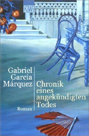 9783462031959: Chronik eines angekündigten Todes. Roman.