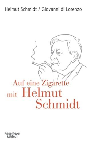 9783462040654: Auf eine Zigarette mit Helmut Schmidt