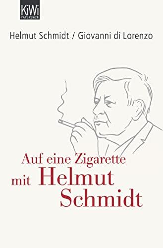 9783462042153: Auf eine Zigarette mit Helmut Schmidt