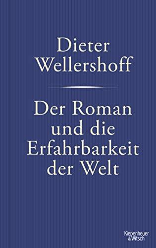 9783462042764: Der Roman und die Erfahrbarkeit der Welt