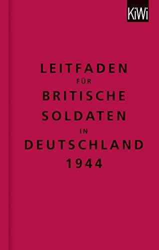 9783462046342: The Bodleian Library: Leitfaden f�r britische Soldaten in Deutschland 1944: Zweisprachige Ausgabe (Englisch/Deutsch)