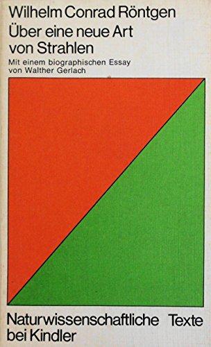 9783463005072: Uber Eine Neue Art Von Strahlen Mit Ein (German Edition)