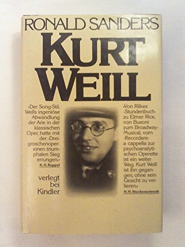9783463007915: The Days Grow Shorter; The Life and Music of Kurt Weill.