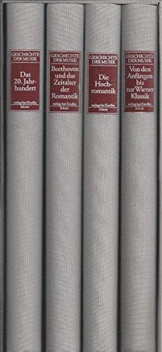 Geschichte der Musik. Titel der Originalausgabe: >Heritage of Music<, aus dem Englischen von ...