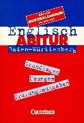9783464007440: Englisch-Abitur - Baden-Württemberg: Aktualisierte Aufgabensammlung mit Lösungen