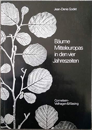 9783464018729: Bäume Mitteleuropas in den vier Jahreszeiten: Kassette mit 92 Farbtafeln. Mit Registerkarten und Begleitbuch