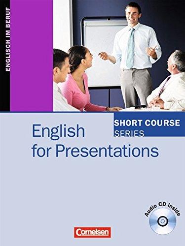 9783464018750: English for Presentations: Kursbuch mit CD