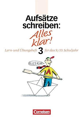 Alles klar! - Deutsch - Sekundarstufe I: Berger, Dietrich, Kienzler,