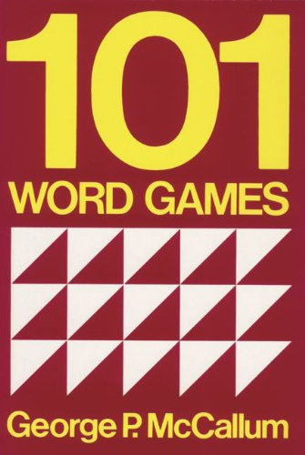 9783464038512: One hundred and one Word Games.: For Students of English as a Second or Foreign Language.