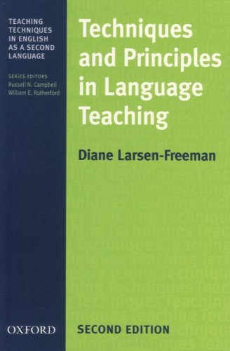 9783464048887: Techniques and Principles in Language Teaching