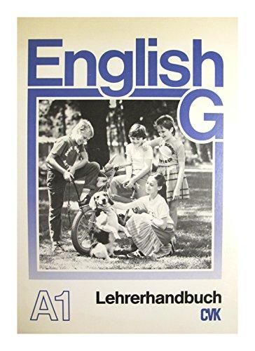 9783464051047: English G Lehrerhandbuch A1 und Ergänzungsheft zum Lehrerhandbuch A1 [inclusive Hörkassette Ausgabe A1] (English G)