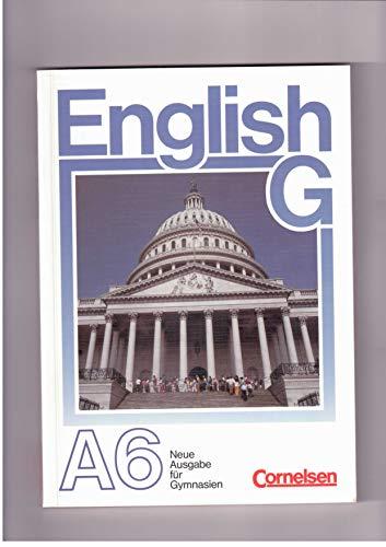 English G. Neue Ausgabe A 6. Lehrerhandbuch: ohne:
