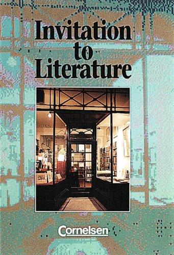 9783464054802: Invitation to Literature