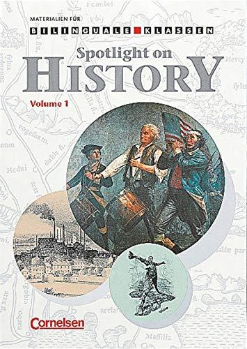 9783464078020: Spotlight on History 1: Arbeitsheft für Klasse 7 / 8, Geschichte. Für bilinguale Klassen