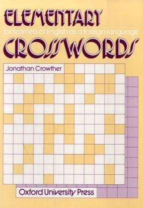 9783464102367: Crosswords. Elementary: For learners of English as a foreign language. Ca. 1000 Vokabeln