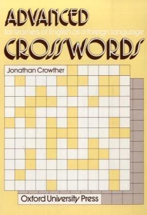 9783464102381: Crosswords. Advanced.