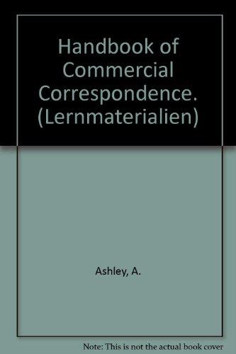 9783464103951: Handbook of Commercial Correspondence. (Lernmaterialien)