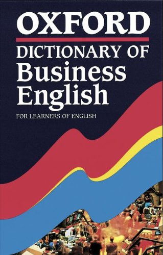 9783464105320: Oxford Dictionary of Business English