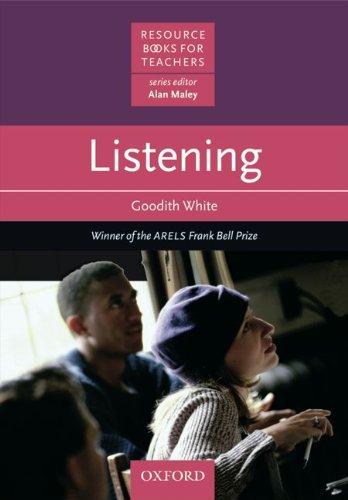 9783464110171: Resource Books for Teachers: Listening