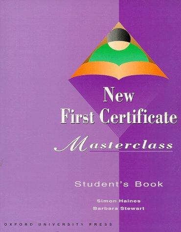 9783464112847: New First Certificate, Masterclass, Student's Book