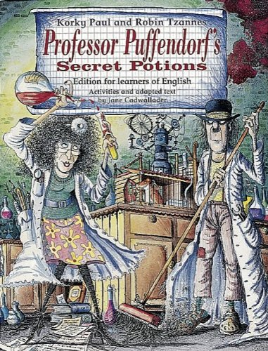 9783464113226: Professor Puffendorf's Secret Potions. Story Book. Edition for learners of English. (Lernmaterialien)