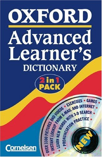 9783464117163: Oxford Advanced Learner's Dictionary of Current English. Deutsche Ausgabe. Mit CD-ROM (Vollversion)