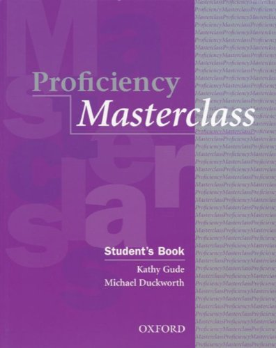 9783464117927: Proficiency Masterclass, New Edition. Students Book