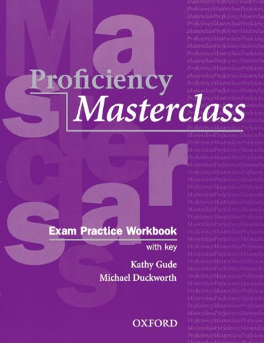 9783464117972: Proficiency Masterclass, New Edition. Exam Practice Workbook and Cassette. (Lernmaterialien)