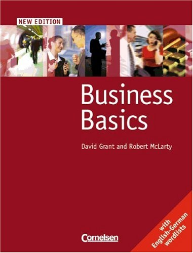 9783464120989: Business Basics, New edition, Student's Book