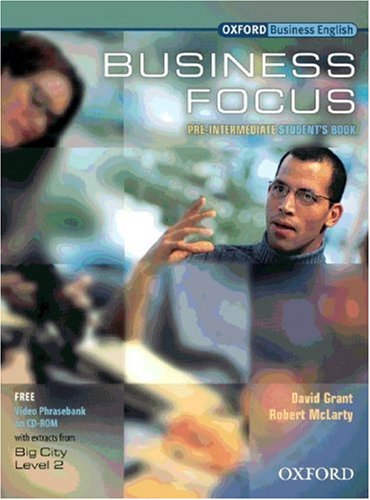 9783464125670: Business Focus. Pre-Intermediate. Student's Book and CD-ROM