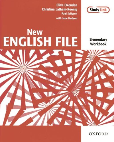 9783464137345: New English File Elementary - Workbook with MultiROM Pack