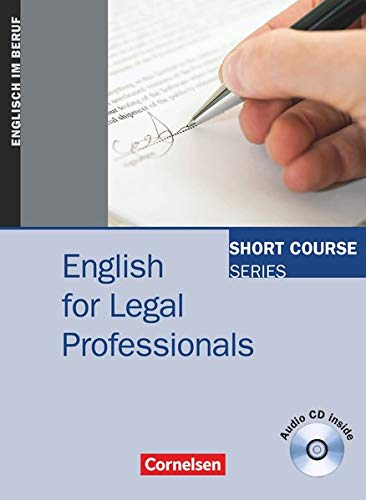9783464203866: English for Legal Professionals: Kursbuch
