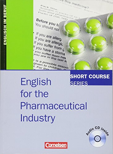 9783464203873: English for the Pharmaceutical Industry. Kursbuch
