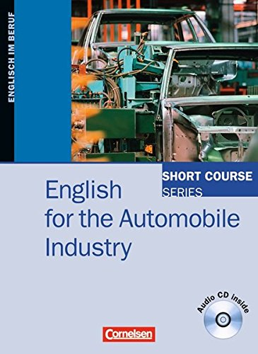 9783464204795: English for the Automobile Industry