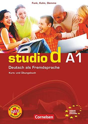 9783464207079: Studio D: Kurs- Und Arbeitsbuch A1 (German Edition)