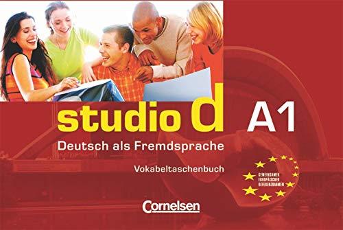 9783464207130: Studio D: Vokabeltaschenbuch A1