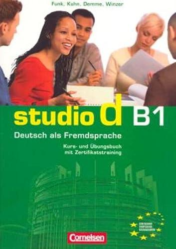 9783464207192: studio d B1. Gesamtband 3. Kurs- und ¨¹bungsbuch mit CD
