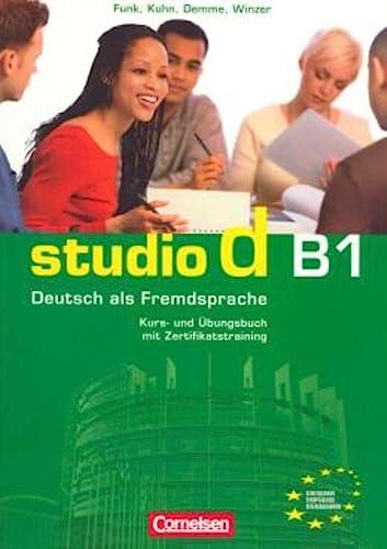 studio d B1. Gesamtband 3. Kurs- und: unknown
