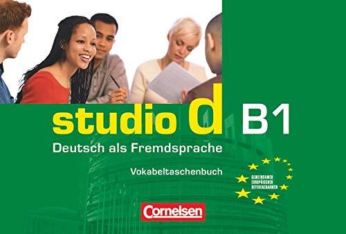 9783464207215: Studio D: Vokabeltaschenbuch B1