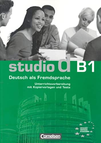9783464207352: Studio D: Unterrichtsmaterial B1