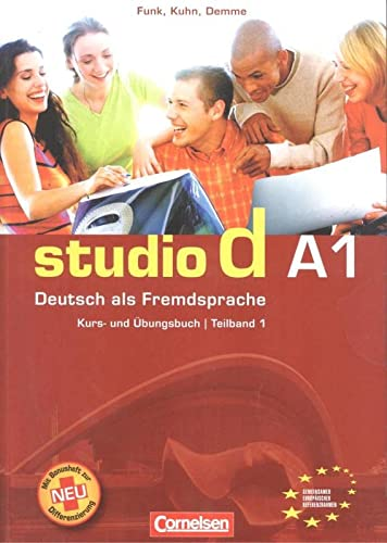 9783464207659: Studio d a1/1 kurs-/ub+CD