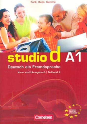 9783464207666: Studio D Kurs-Und Ubungsbuch MIT CD - Niveau A1 - Teilband 2