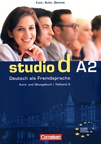 9783464207680: Studio d. Teilband 2 des Gesamtbandes 2. Kurs- und Übungsbuch mit Lerner-CD: Einheit 7 - 12 - Europäischer Referenzrahmen A2. Deutsch als Fremdsprache, Kurs- und Übungsbuch
