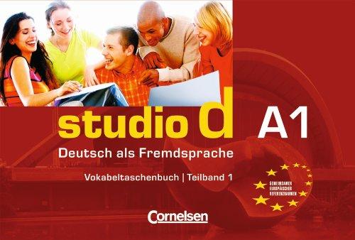 9783464207864: studio d. Teilband 1 des Gesamtbandes 1 Vokabeltaschenbuch