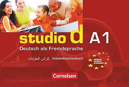 9783464208199: Studio D: Vokabeltaschenbuch Deutsch/Arabisch (German Edition)
