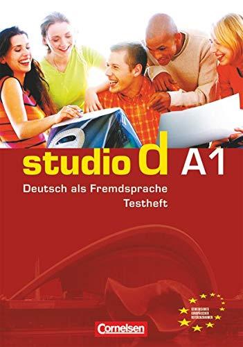 9783464208229: Studio D: Testheft A1 MIT Audio-CD (German Edition)