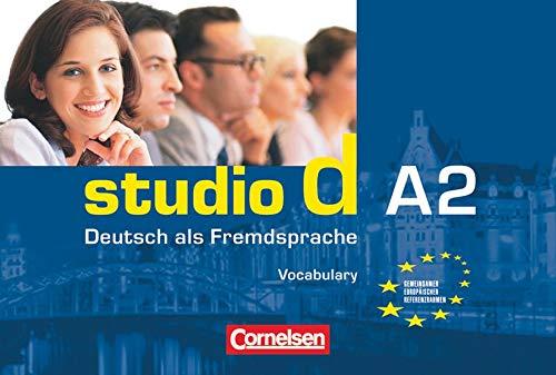 Studio D: Vokabeltaschenbuch A2 Deutsch-Englisch (German Edition): Cornelsen Verlag GmbH