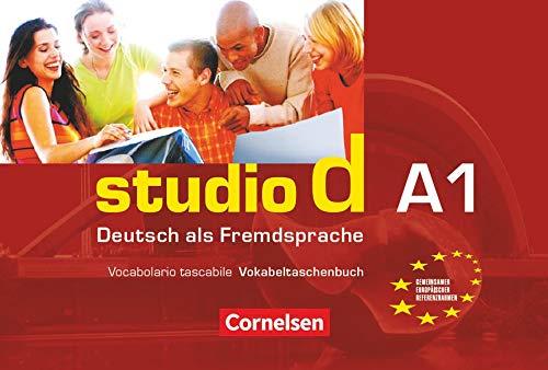 9783464208342: studio d A 1 Deutsch als Fremdsprache: Vocabolario tascabile Vokabeltaschenbuch