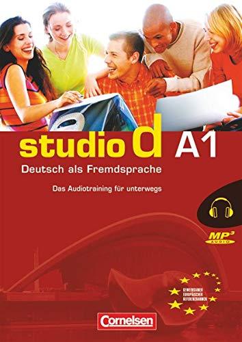 9783464208519: Studio d: Das MP3-Audiotraining fur Unterwegs A1